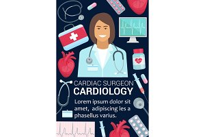 Cardiology surgeon doctor
