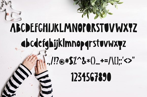 KazuKa Kids Font in Display Fonts - product preview 1