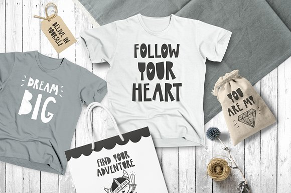 KazuKa Kids Font in Display Fonts - product preview 2