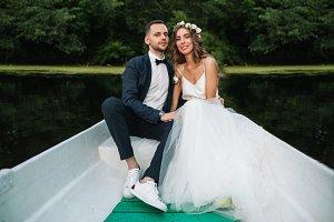 Beautiful couple groom and bride nea
