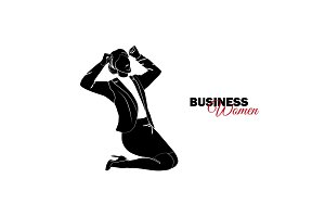 Businesswoman. Woman in business
