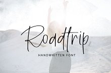 Roadtrip | Handwritten Font
