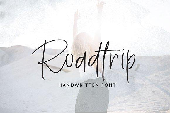 Roadtrip | Handwritten Font