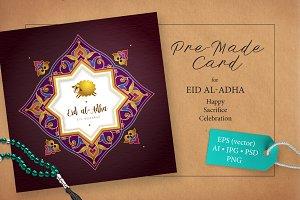 5. Eid Al-Adha Pre-Made Card