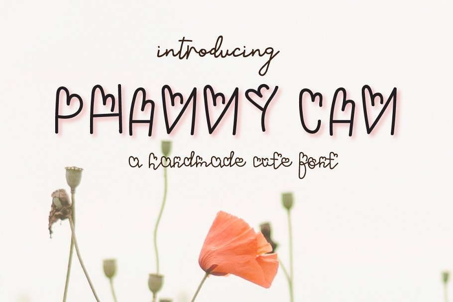Phanny Can - A cute Font in Display Fonts - product preview 8