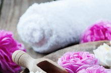 Concept of spa treatment with roses