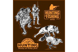hunting collection - foxhunting and