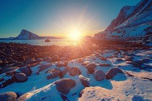 Sunset at Lofotens