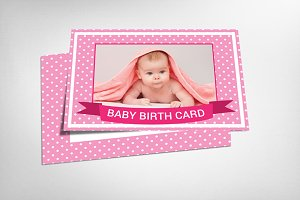 Baby Birth Card
