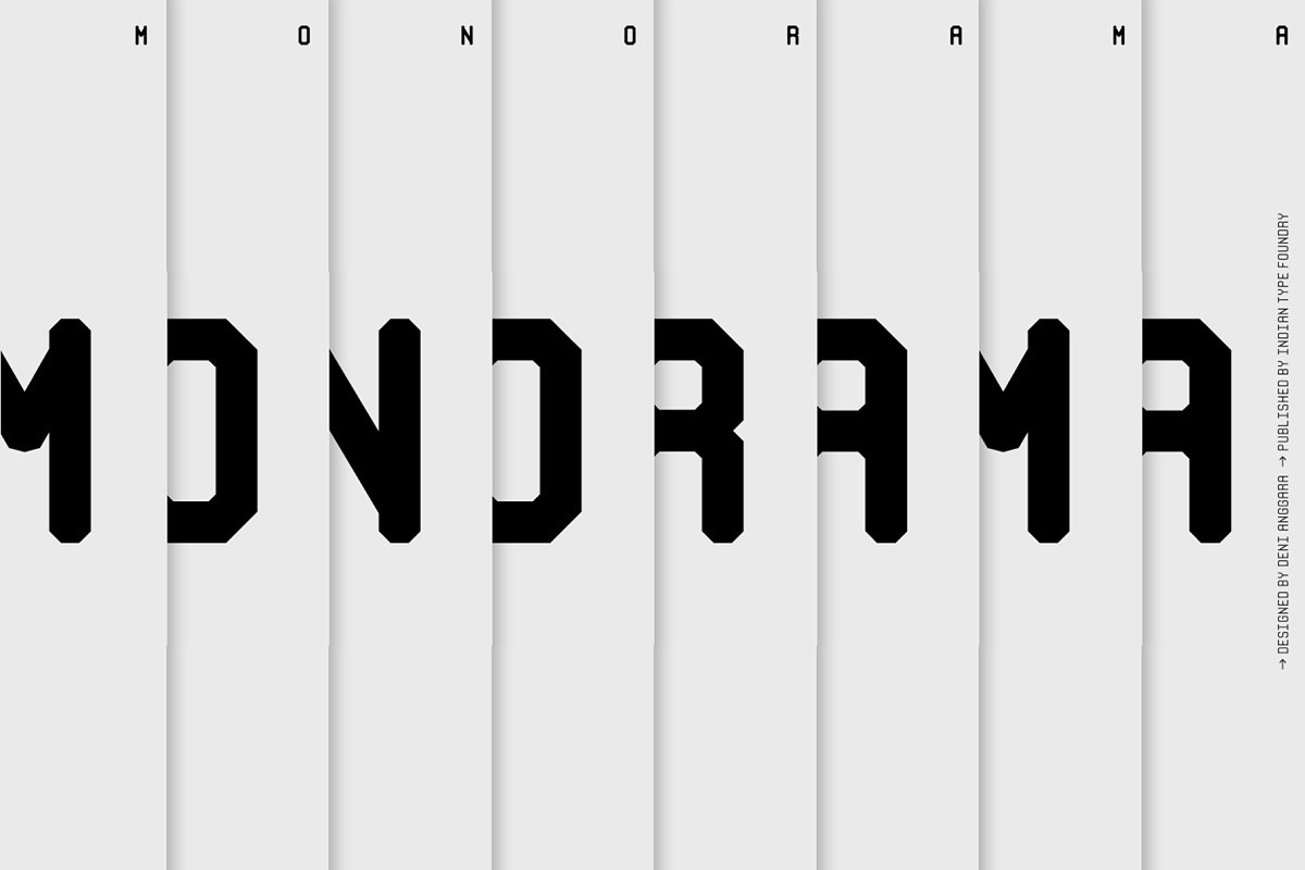Monorama — 75% OFF in Display Fonts - product preview 8