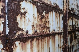 Rust on old metal texture background