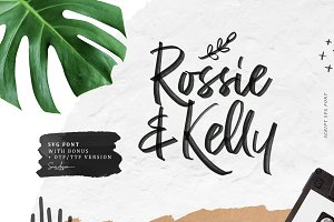 Rossie Kelly - SVG Font