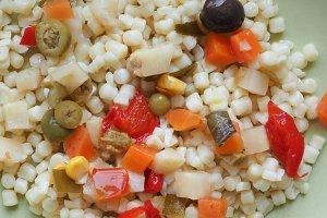 pasta salad food
