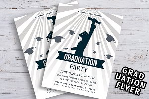 Graduation Flyer Template V01