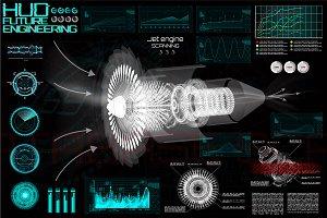 Future Engineering Elements, HUD UI