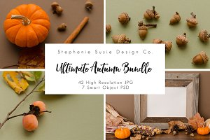 Ultimate Autumn Mock Up Bundle