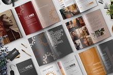 Branding Style Guide Template by  in Magazines