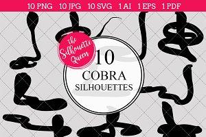 Cobra Snake Silhouette Clipart Clip