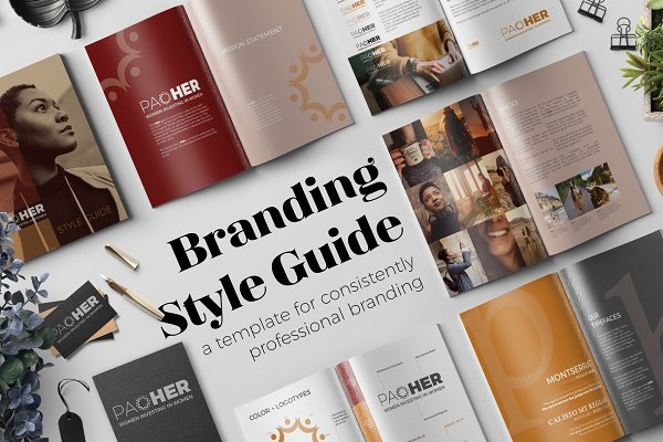 Magazine Templates - Branding Style Guide Template