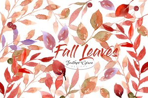 Fall Leaves, Wreaths, Frames