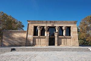 Famous Landmark Debod Temple