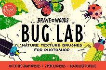 Bug Lab | Photoshop Texture Brushes by  in Brushes