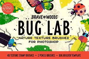 Bug Lab | Photoshop Texture Brushes
