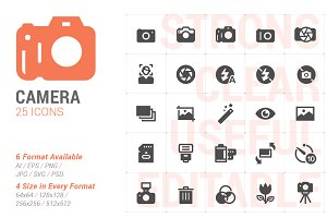 Camera Filled Icon
