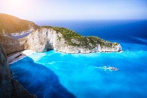 Navagio beach, Zakynthos island