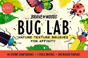 Bug Lab | Affinity Texture Brushes