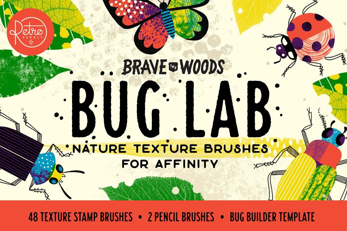 Bug Lab | Affinity Texture Brushes ~ Photoshop Brushes ~ Creative Market