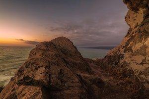 Sunset From Wedding Rock