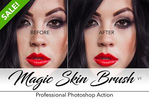 Magic Skin Brush - Pro Retouching