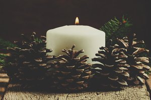 Christmas or New Year's composition