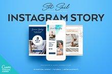 SET SAIL Instagram Story Templates