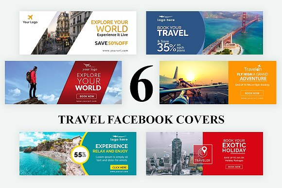 24 Multipurpose Facebook Covers Templates Creative Market