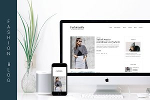 Fashionable - WordPress Blog Theme
