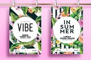 Summer Vibe Flyer