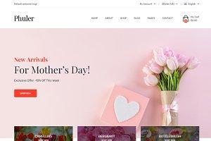 Phuler - Flower eCommerce Template