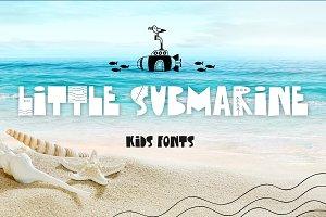 Little Submarine Kids Fonts