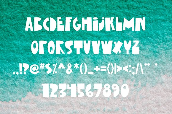 Little Submarine Kids Fonts in Display Fonts - product preview 2