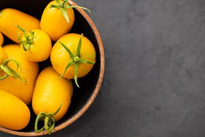 Yellow Tomatoes as high detailed