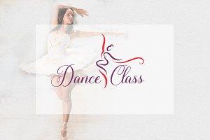 Dancer Class Logo Template
