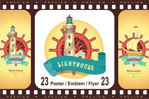 Sea theme Lighthouses