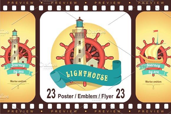 Sea theme Lighthouses