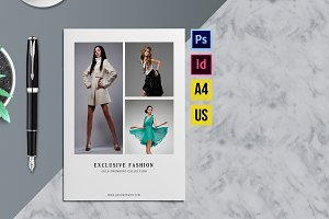 Fashion Product Brochure/Catalog