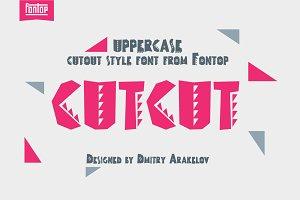 CUTCUT typeface