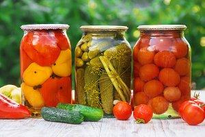 Preservation of vegetables. Blanks