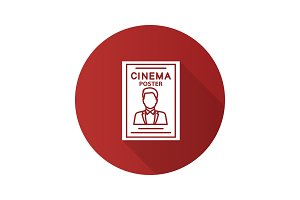 Movie poster icon