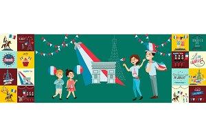 holiday france Bastille Day